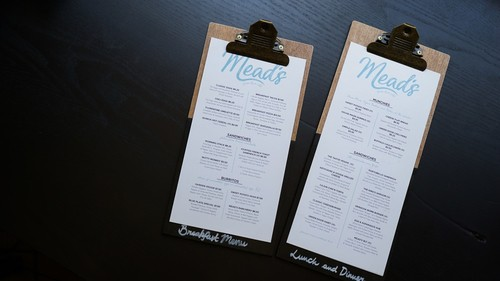online restaurant menu creator bespoke menu design myday